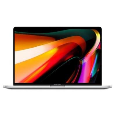 """Apple MacBook Pro Silver Notebook 40.6 cm (16"""") 3072 x 1920 pixels 9th gen Intel® Core™ i9 16 GB DDR4-SDRAM 1024 GB SSD AMD Radeon Pro 5500M Wi-Fi 5 (802.11ac) macOS Catalina"""