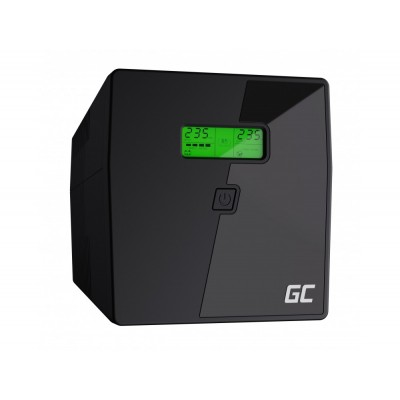 Green Cell UPS03 uninterruptible power supply (UPS) Line-Interactive 1999 VA 600 W 4 AC outlet(s)