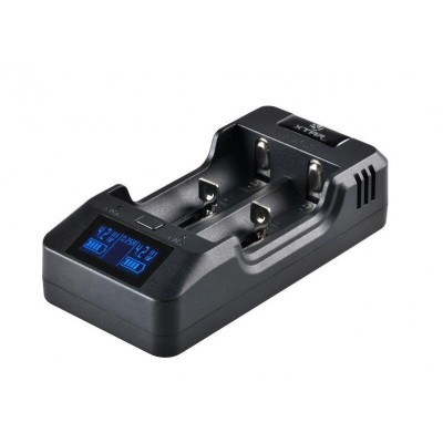 Quick Charger for Cylindrical li-ion Batteries 18650 Xtar VP2