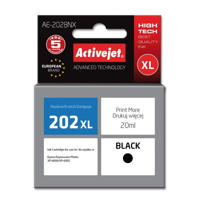 Activejet AE-202BNX ink for Epson 202XL G14010