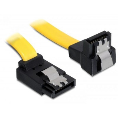 DeLOCK 0.5m SATA M/M SATA cable Yellow