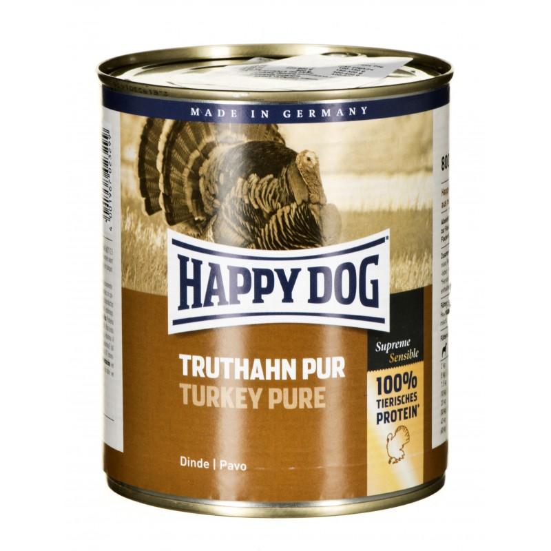 HAPPY DOG Truthahn Pur 800 g