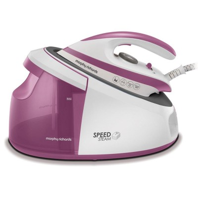 Morphy Richards 333201 steam ironing station 3000 W 1.7 L Ceramic soleplate Pink,White