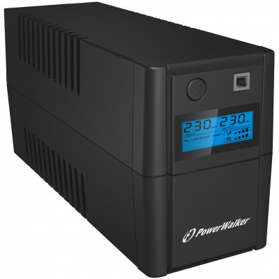 PowerWalker VI 850 SHL FR uninterruptible power supply (UPS) Line-Interactive 850 VA 480 W 2 AC outlet(s)