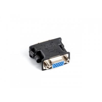Lanberg AD-0012-BK video cable adapter DVI-I VGA (D-Sub) Black