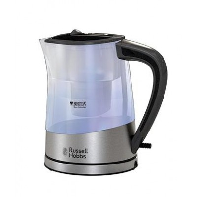 Russell Hobbs Purity electric kettle 1 L Black,Silver,Transparent 2200 W