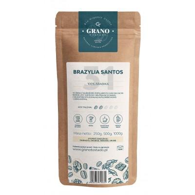 Grano Tostado Brazylia Santos Coffee, medium ground 250 g