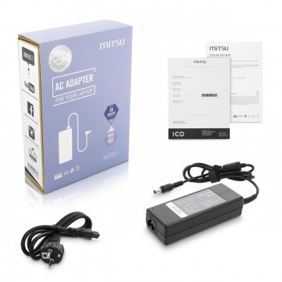 notebook charger mitsu 15v 5a (6.3x3.0) - toshiba