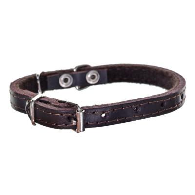 Chaba 600347 dog/cat collar Brown Leather Standard collar