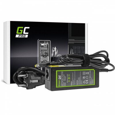 Green Cell AD38AP power adapter/inverter Indoor 65 W Black