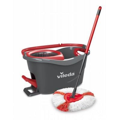 Vileda en steel Supermocio 3Action mop Wool Red,White