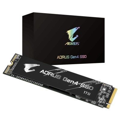 Gigabyte GP-AG41TB internal solid state drive M.2 1000 GB PCI Express 4.0 3D TLC NAND NVMe