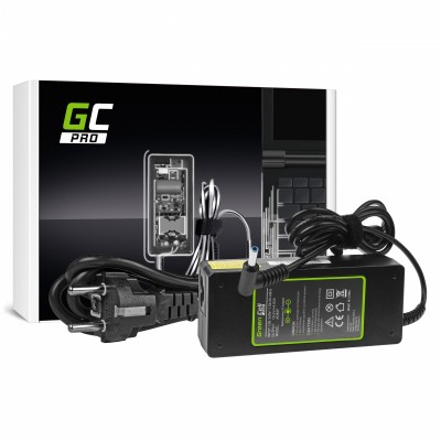Green Cell AD65P power adapter/inverter Indoor 90 W Black