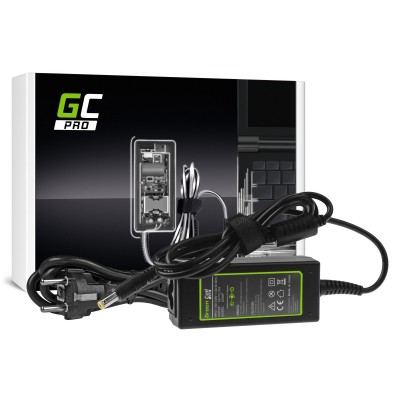 Green Cell AD66P power adapter/inverter Indoor 45 W Black