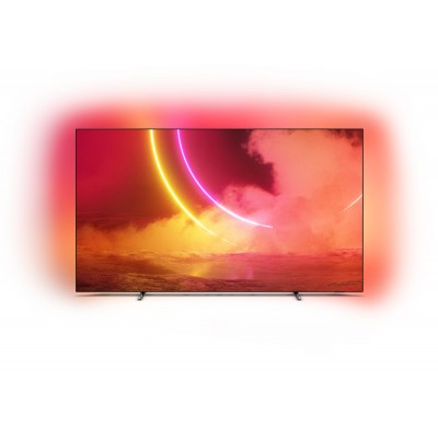 "Philips 8 series 65OLED805/12 TV 165.1 cm (65"") 4K Ultra HD Smart TV Wi-Fi Grey"