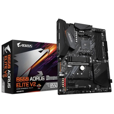 Gigabyte B550 AORUS ELITE V2 motherboard AMD B550 Socket AM4 ATX