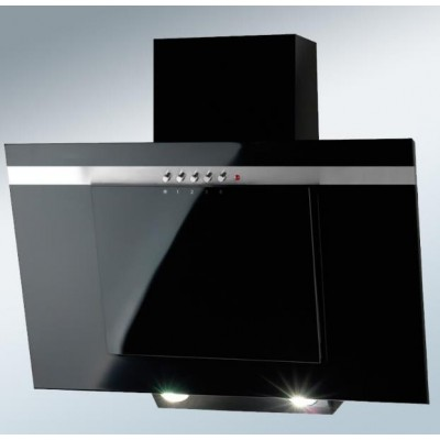 Akpo WK-4 Nero Line Eco 450 m³/h Wall-mounted Black,Stainless steel