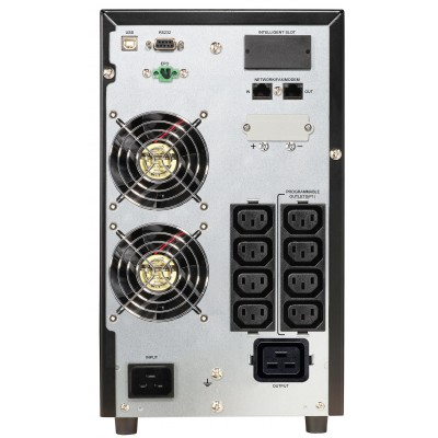 PowerWalker VFI 3000 CG PF1 uninterruptible power supply (UPS) Double-conversion (Online) 3000 VA 3000 W 9 AC outlet(s)