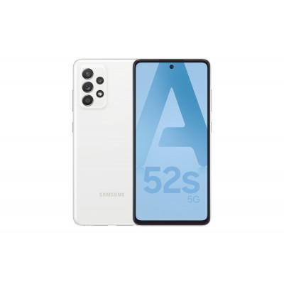 """Samsung Galaxy A52s 5G SM-A528B 16.5 cm (6.5"""") Dual SIM Android 11 USB Type-C 6 GB 128 GB 4500 mAh White"""