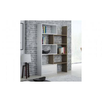 Cama bookcase PACO white/latte