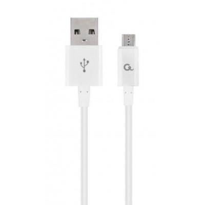 Cablexpert CC-USB2P-AMMBM-1M-W USB cable 2.0 USB A Micro-USB B White