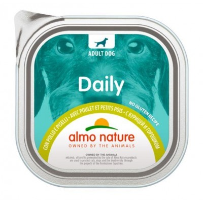 ALMO NATURE Daily Menu Chicken with peas 100 g