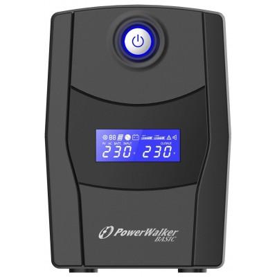 PowerWalker VI 800 STL uninterruptible power supply (UPS) Line-Interactive 800 VA 480 W 2 AC outlet(s)