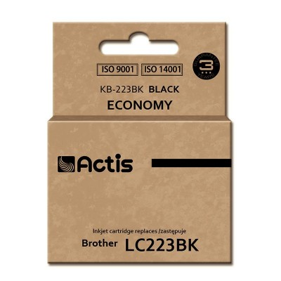 Actis KB-223BK ink cartridge for Brother (LC223BK compatible)