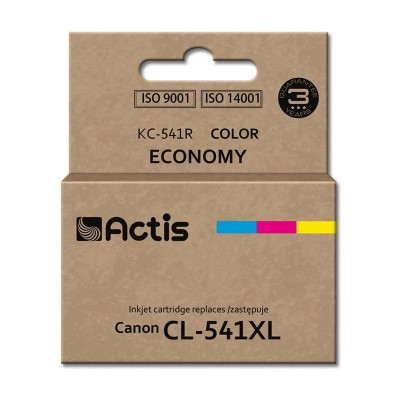 Actis colour ink cartridge for Canon printer (Canon CL-541XL replacement) standard