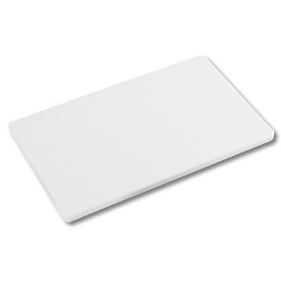 Kesper 30151 kitchen cutting board Rectangular Plastic White