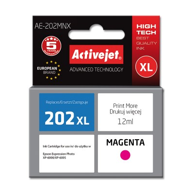 Activejet AE-202MNX ink for Epson 202XL H34010