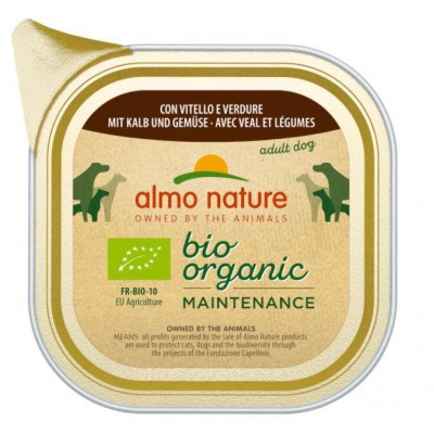 ALMO NATURE Daily Menu Bio Organic Veal with vegetables 100 g