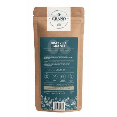 Grano Tostado Brazylia Grano Coffee, medium ground 250 g