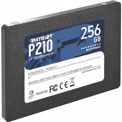 """Patriot Memory P210 2.5"""" 256 GB Serial ATA III"""