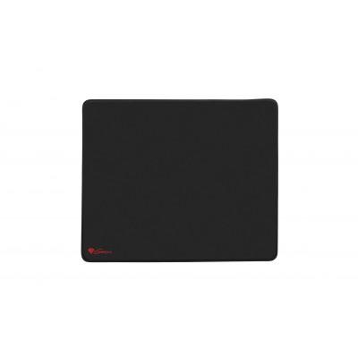 GENESIS CARBON 500 L LOGO Black Gaming mouse pad
