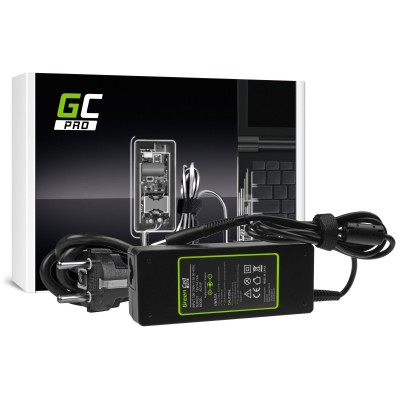 Green Cell AD15P power adapter/inverter Indoor 90 W Black