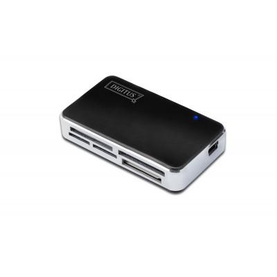 Digitus DA-70322-1 card reader Black,Silver USB 2.0