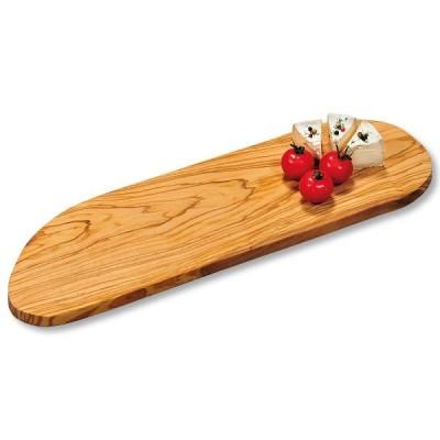 Kesper 2910460 kitchen cutting board Oval Wood Olive