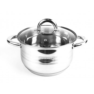 Feel-Maestro MR3513-18 18 cm Pot with a lid
