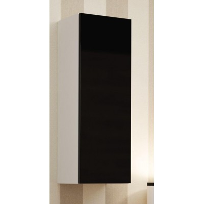 "Cama Cabinet VIGO ""90"" full 90/35/32 white/black gloss"