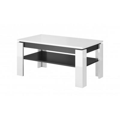 Cama coffee table TORO 100 white/graphite