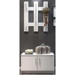 Tuckano Coat hanger with shoe cabinet 79x123x35 SNOW white