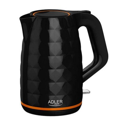 Adler AD 1277 B electric kettle 1.7 L Black 2200 W