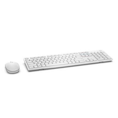 DELL KM636 keyboard RF Wireless QWERTY US International White