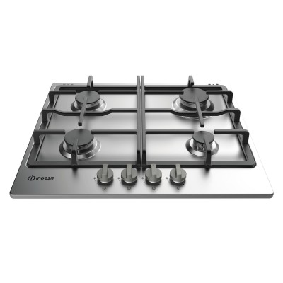 Indesit THP 641 IX/I hob Stainless steel Built-in Gas 4 zone(s)