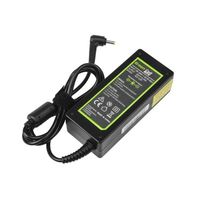 Green Cell AD123P power adapter/inverter Indoor 65 W Black