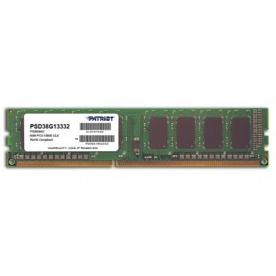 Patriot Memory 8GB PC3-10600 memory module DDR3 1333 MHz