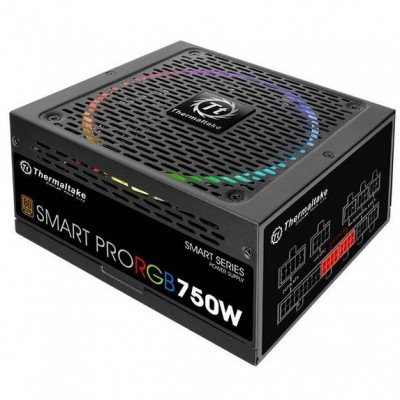 Thermaltake Smart Pro RGB power supply unit 750 W ATX Black