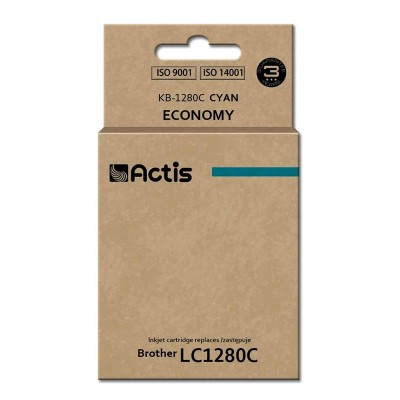 Actis KB-1280C ink cartridge for Brother printer (Brother LC-1280C replacement) standard