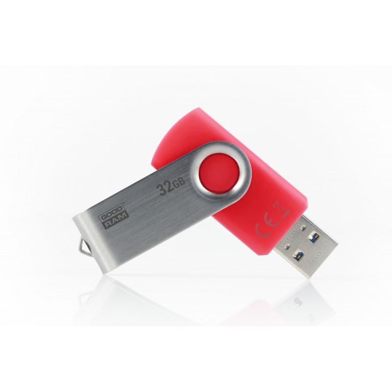 Goodram UTS3 USB flash drive 32 GB USB Type-A 3.2 Gen 1 (3.1 Gen 1) Red